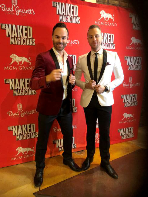 The Naked Magicians - Photo credit: Bobbie Katz