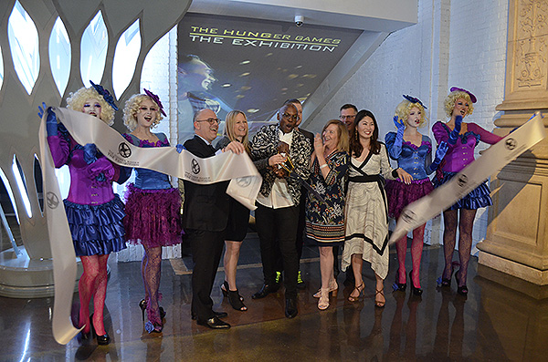 Exhibit ribbon cutting - Photo credit: Stephen Thorburn