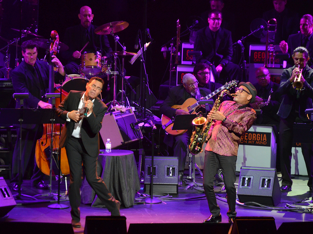 Clint Holmes and Kirk Whalum Georgia On My Mind Celebrating the Music of Ray Charles 59566
