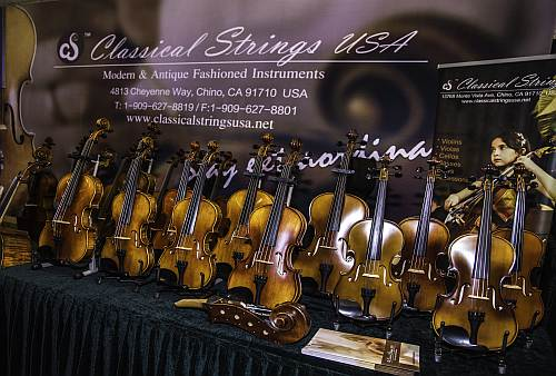 Beautiful Violins from Classical Strings
