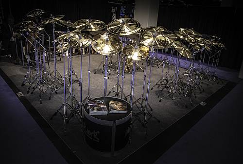 Cymbals of all sizes