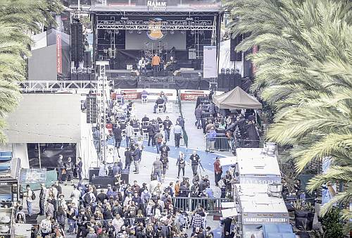 Main Stage for NAMM 2016