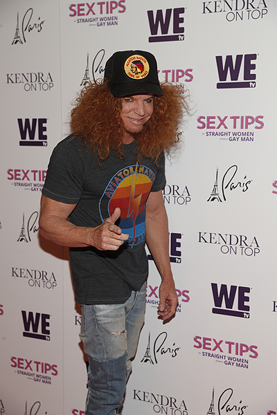 Carrot Top at the premiere of Sex Tips for Straight Women from a Gay Man and WE tvs Kendra on Top on June 8 2017 in Las Vegas Nevada Photo by Isaac Brekken Getty Images for WE tv