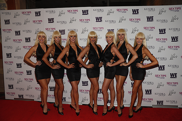Crazy Girls at the premiere of Sex Tips for Straight Women from a Gay Man and WE tvs Kendra on Top on June 8 2017 in Las Vegas Nevada Photo by Isaac Brekken Getty Images for WE tv