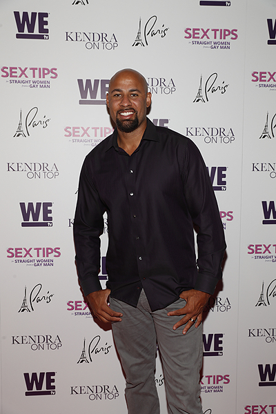Hank Baskett at the premiere of Sex Tips for Straight Women from a Gay Man and WE tvs Kendra on Top on June 8 2017 in Las Vegas Nevada Photo by Isaac Brekken Getty Images for WE tv