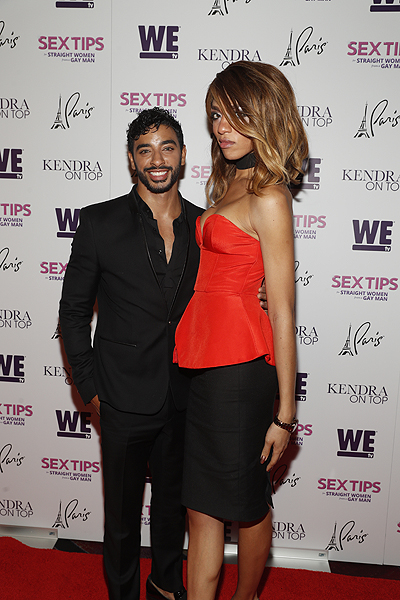Laith Ashley Arisce Wanzer at the premiere of Sex Tips for Straight Women from a Gay Man and WE tvs Kendra on Top on June 8 2017 in Las Vegas Nevada Photo by Isaac Brekken Getty Images for WE tv