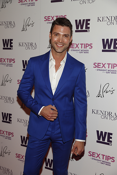 Michael Milton at the premiere of Sex Tips for Straight Women from a Gay Man and WE tvs Kendra on Top on June 8 2017 in Las Vegas Nevada Photo by Isaac Brekken Getty Images for WE tv