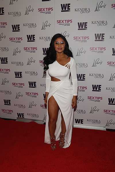 Mikalah Gordon at the premiere of Sex Tips for Straight Women from a Gay Man and WE tvs Kendra on Top on June 8 2017 in Las Vegas Nevada Photo by Isaac Brekken Getty Images for WE tv