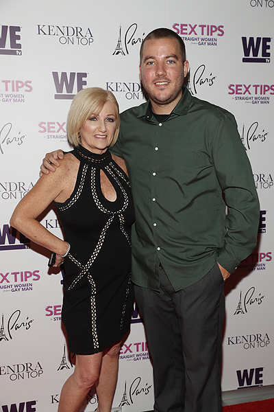 Patti Wilkinson and Colin Wilkinson at the premiere of Sex Tips for Straight Women from a Gay Man and WE tvs Kendra on Top on June 8 2017 in Las Vegas Nevada Photo by Isaac Brekken Getty Images for WE tv