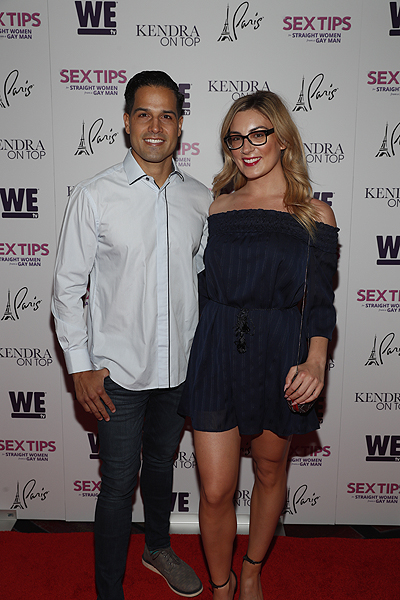 Ricardo Laguna at the premiere of Sex Tips for Straight Women from a Gay Man and WE tvs Kendra on Top on June 8 2017 in Las Vegas Nevada Photo by Isaac Brekken Getty Images for WE tv