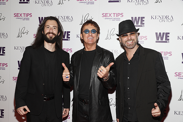 The Australian Bee Gees at the premiere of Sex Tips for Straight Women from a Gay Man and WE tvs Kendra on Top on June 8 2017 in Las Vegas Nevada Photo by Isaac Brekken Getty Images for WE tv