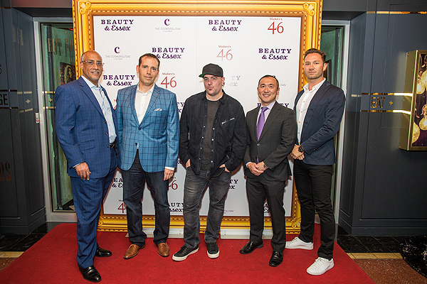 Lou Abin Adan Gewanter Chris Santos Hung Yim Jason Strauss at Beauty Essex First Anniversary