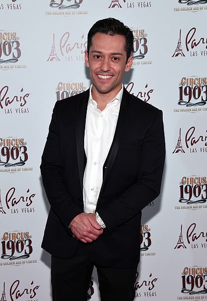 Mentalist Frederic De Silva Attends Opening Night of CIRCUS 1903 at Paris Las Vegas 7.25.17 Ethan Miller