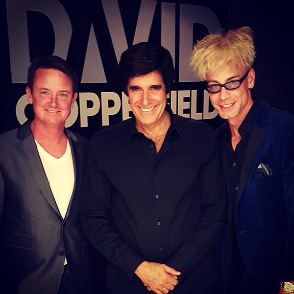 David Copperfield and Jeff Wesson Murray 2017