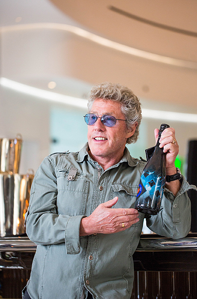 Roger Daltrey Champagne Launch at MR CHOW Credit Anjali Ram