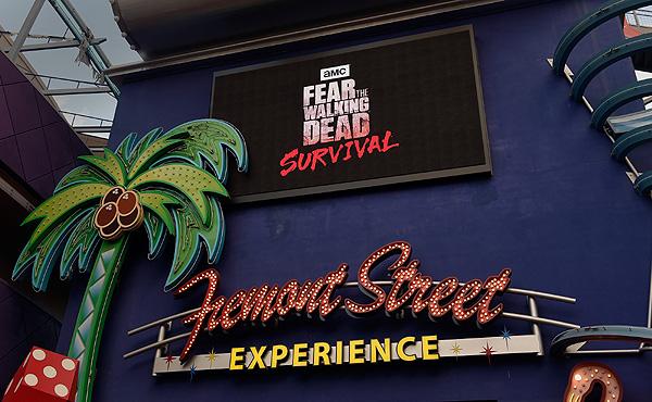 FSE Celebrates the Grand Opening of Fear the Walking Dead Survival in Las Vegas credit Las Vegas News Bureau