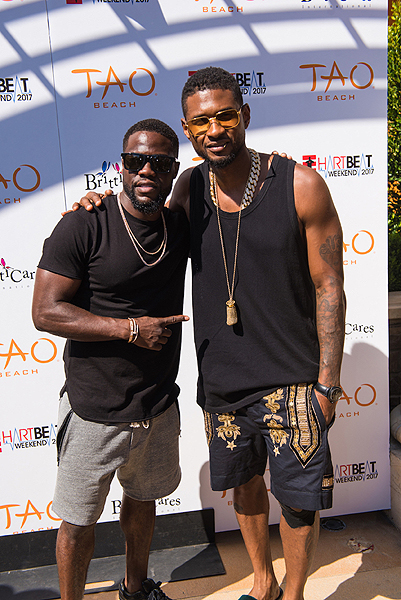 Kevin Hart Usher at the Official HartBeat Weekend Pool Party at TAO Beach