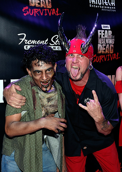 Michael Henry of Counting Cars at the Grand Opening of Fear the Walking Dead Survival at FSE in Las Vegas credit Las Vegas News Bureau