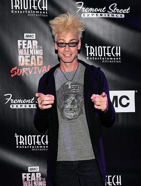 Murray Sawchuck at the Grand Opening of Fear the Walking Dead Survival at FSE in Las Vegas credit Las Vegas News Bureau