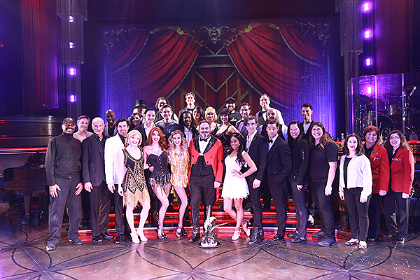 BAZ A Musical Mash Up Celebrates Its 400th Performance at The Palazzo Theatre Courtesy The Venetian and The Palazzo Las Vegas