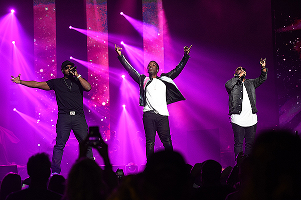 Boyz II Men Performs at Vegas Strong Benefit Concert