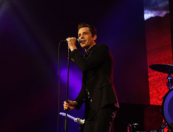 Brandon Flowers of The Killers at Vegas Strong Benefit Concert Credit Denise Truscello.Wireimage