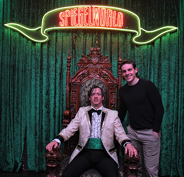 Erik Haula Attends ABSINTHE 11.26.17 Courtesy of JosephSanders Spiegelworld