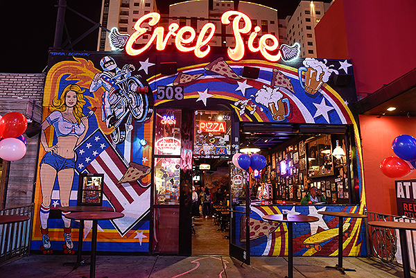 Evel Pie celebrates first anniversary