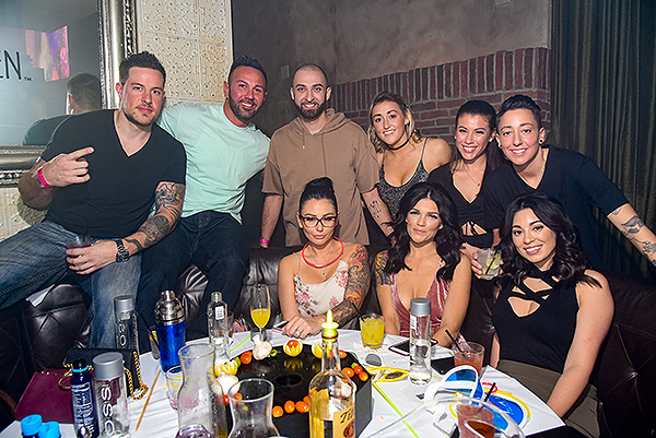 Jwoww at LAVO Brunch1