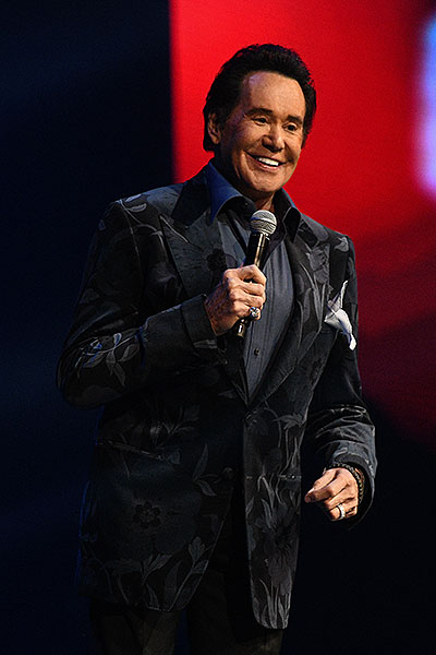 Wayne Newton Presents at Vegas Strong Benefit Concert