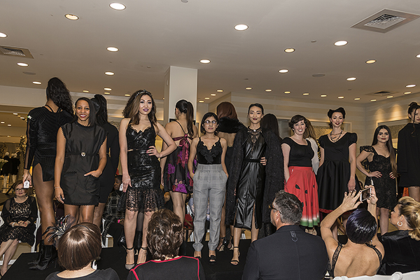 2017 Runway Show for the LVFC Little Black Dress Event Photo Credit Jacquelyn Samano