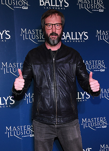 Tom Green on the red carpet at opening night of Masters of Illusion at Ballys Las Vegas 12.13.17 credit Ethan Miller