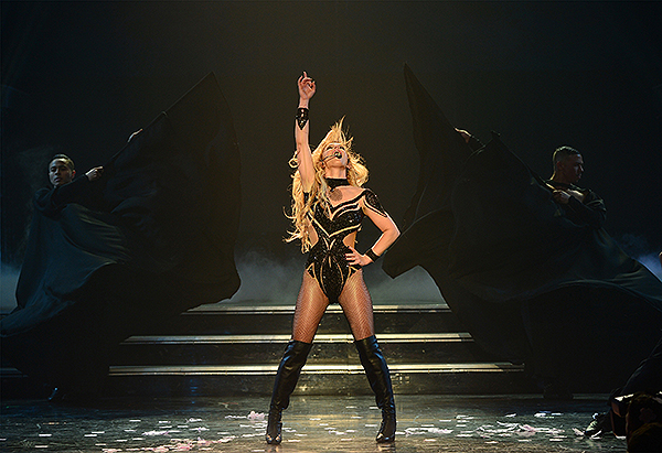 Britney Spears at The AXIS at Planet Hollywood photo credit Denise Truscello