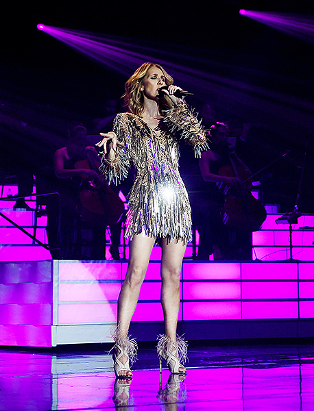 Celine Dion at The Colosseum at Caesars Palace photo credit Denise Truscello