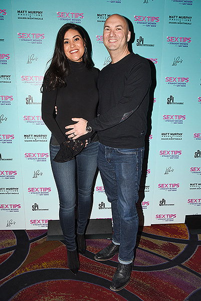 Bri and Adam Steck at Sex Tips for Straight Women from a Gay Man at Paris Las Vegas Thursday Jan. 11
