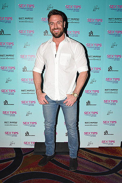 Chad Johnson at Sex Tips for Straight Women from a Gay Man at Paris Las Vegas Thursday Jan. 11jpg