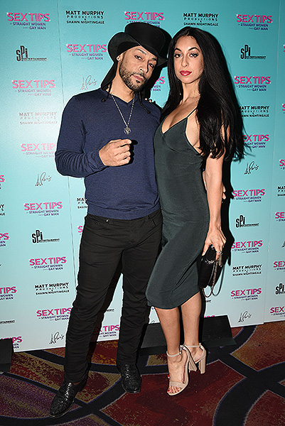 Jason Tenner and Porsche Youssef at Sex Tips for Sraight Women from a Gay Man Thursday Jan. 11