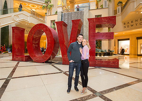 Nastia Liukin Matt Lombardi at LOVE at The Venetian The Palazzo 5