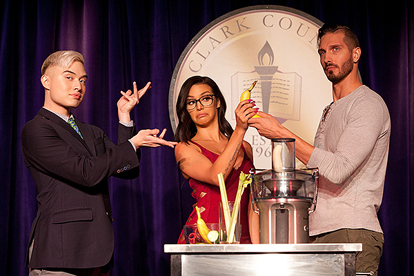Chester Lockhart, Scheana Shay, and Chris Hodgsen - Photo courtesy SPI Entertainment