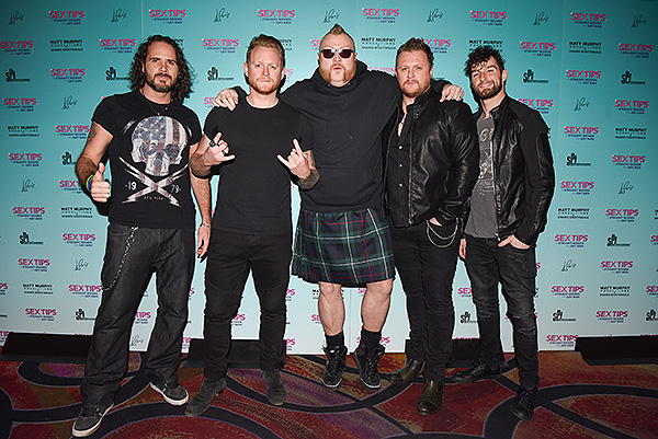 Tenors of Rock at Sex Tips for Straight Women from a Gay Man at Paris Las Vegas Thursday Jan. 11