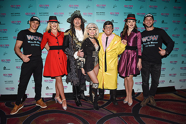 The Cast of Wow at Sex Tips for Straight Women from a Gay Man at Paris Las Vegas Thursday Jan. 11