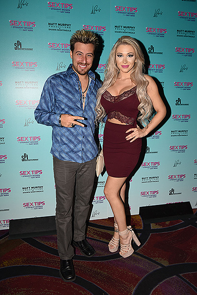 Tommy and Stacy Wind at Sex Tips for Straight Women from a Gay Man at Paris Las Vegas Thursday Jan. 11