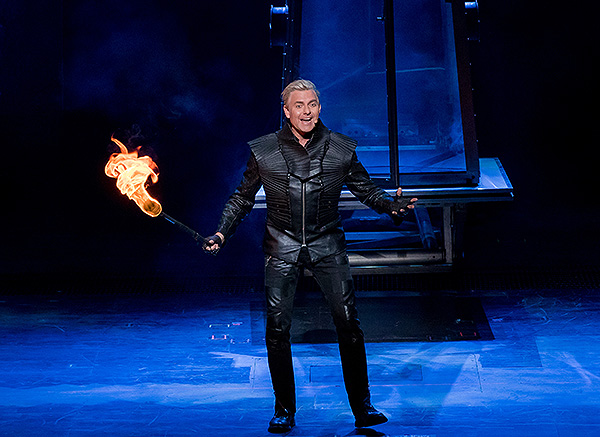 Joe Labero performs in INFERNO - Photo credit: Erik Kabik