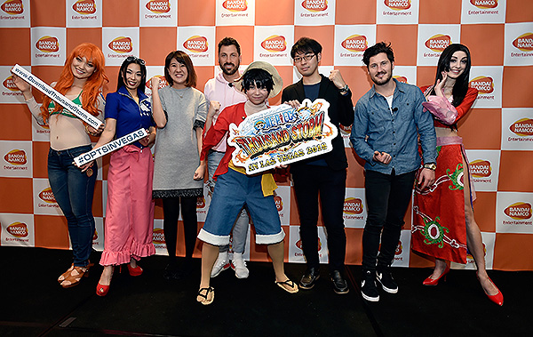 One Piece Thousand Storm in Las Vegas 2018 Characters Producers Maks Val