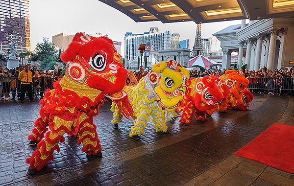 Chinese New Year 2018 Caesars Palace Lion Dance3