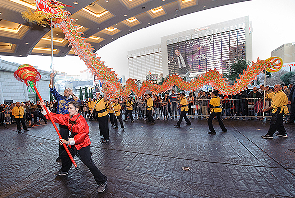 Chinese New Year 2018 Caesars Palace Lion Dance7