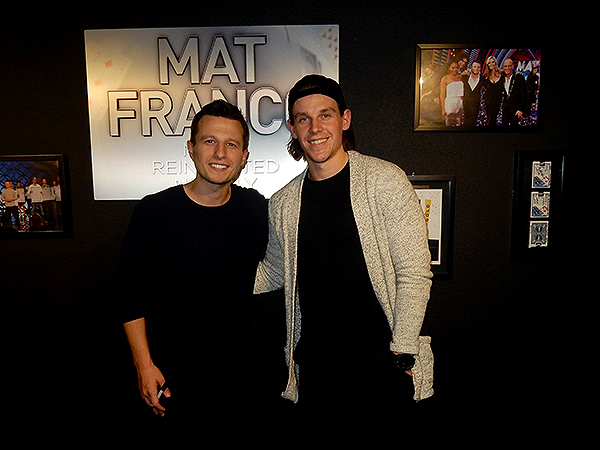 Vegas Golden Knight Erik Haula Attends MAT FRANCO MAGIC REINVENTED NIGHTLY 2.16.18 Credit MatFranco MagicReinventedNightly