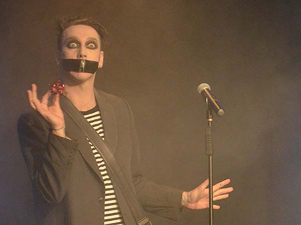 Tape Face - Photo credit: Stephen Thorburn