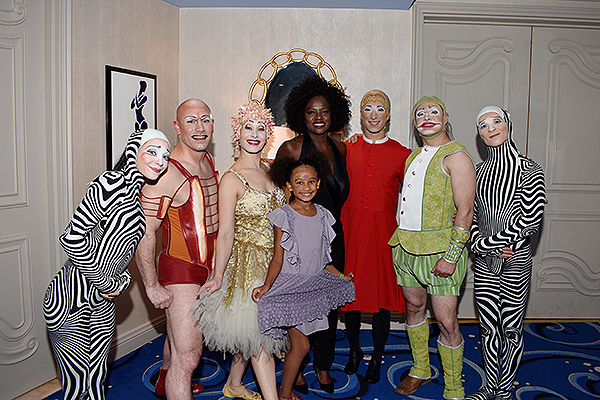 Viola Davis Attends O Courtesy of Cirque du Soleil