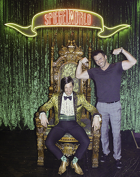 Tony Dovolani Attends ABSINTHE at Caesars Palace 4.12.18 Credit JosephSanders Spiegelworld